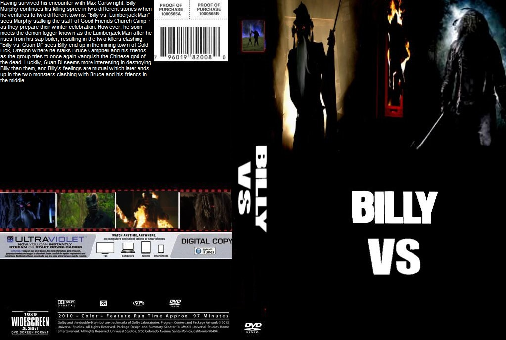 Billy VS Double Feature DVD Cover By SteveIrwinFan96 ...