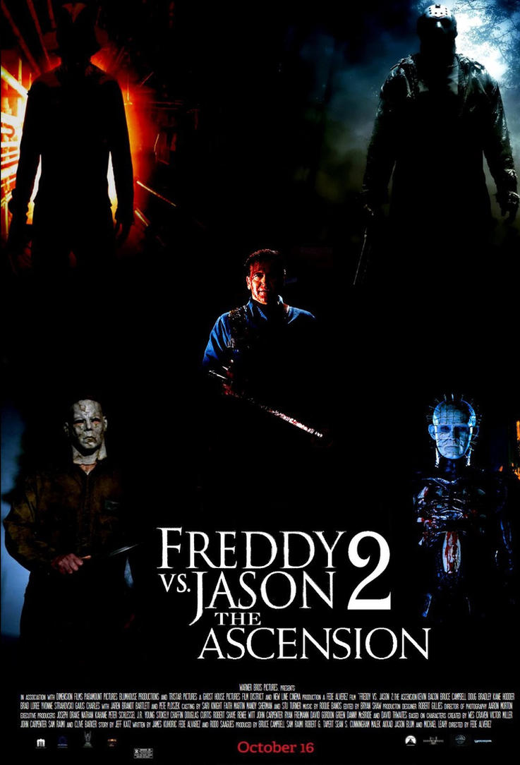 freddy vs jason 2 the ascension movie poster by