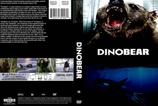 Dinobear Double Feature DVD cover