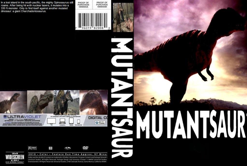 Mutantsaur Dvd Cover By Steveirwinfan96 On Deviantart