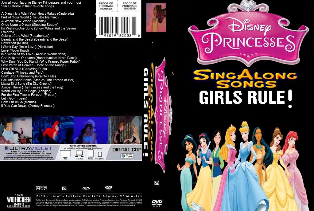 Disney Princess Sing Along Songs Girls Rule by ...