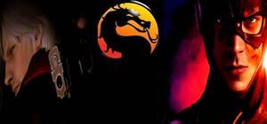 Mortal Kombat Dante vs The Flash