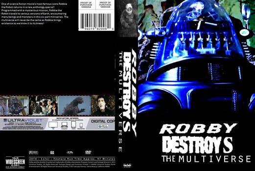 Robbie Destroys the Multiverse  DVD cover by SteveIrwinFan96