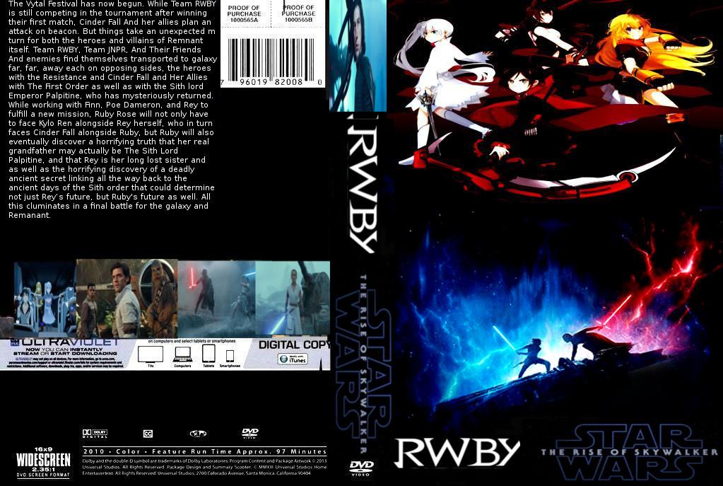 Rwby Star Wars The Rise Of Skywalker Dvd Cover By Steveirwinfan96 On Deviantart