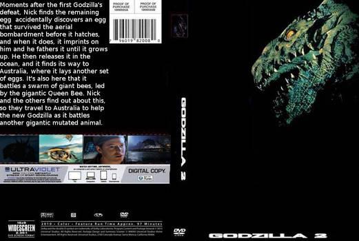 Godzilla 2 DVD cover