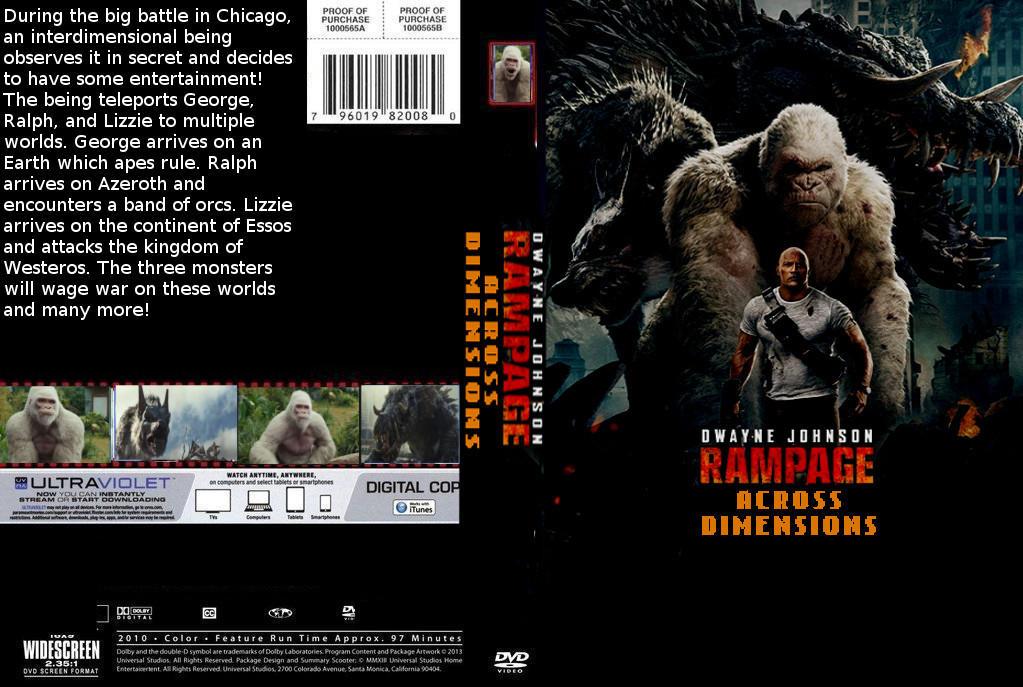 Rampage Across Time Dvd Cover By Steveirwinfan96 On Deviantart