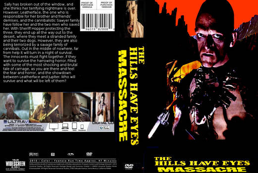 The Hills Have Eyes Massacre DVD cover
