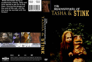 The Misadventures of Tasha and Stink DVD cover