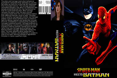 Spider-Man meets Batman DVD cover version 4