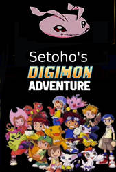 Setoho's Digimon Adventure poster