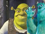Sully meets Shrek