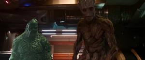 Swamp Thing meets Groot