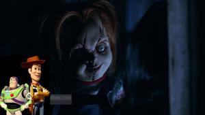Woody and Buzz vs Chucky