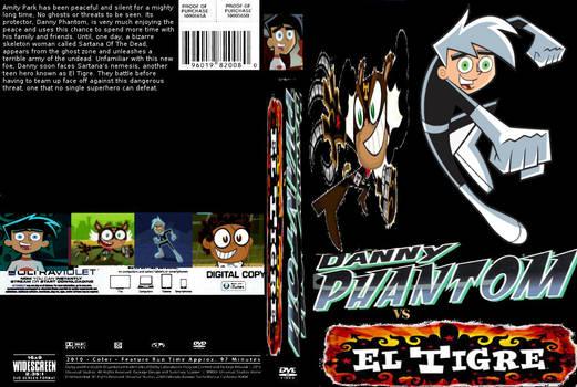 Danny Phantom vs El Tigre DVD cover