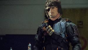 Sylvester Stallone as Deathstroke