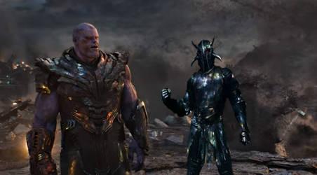 Ares vs. Thanos