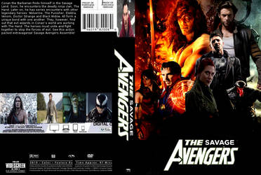 Savage Avengers DVD cover