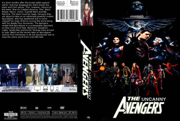 The Uncanny Avengers DVD cover
