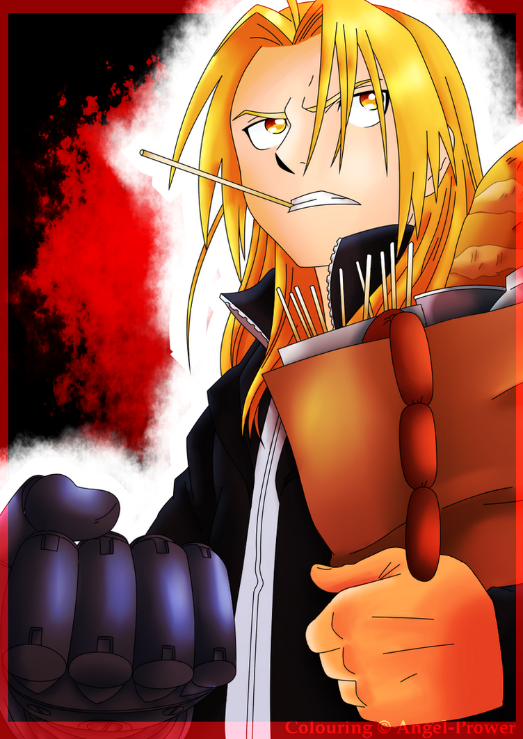 Edward Elric .:Coloured:. by Angel-Prower