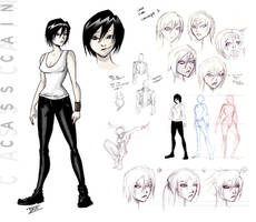 Cass Cain Concept by DrewXIII