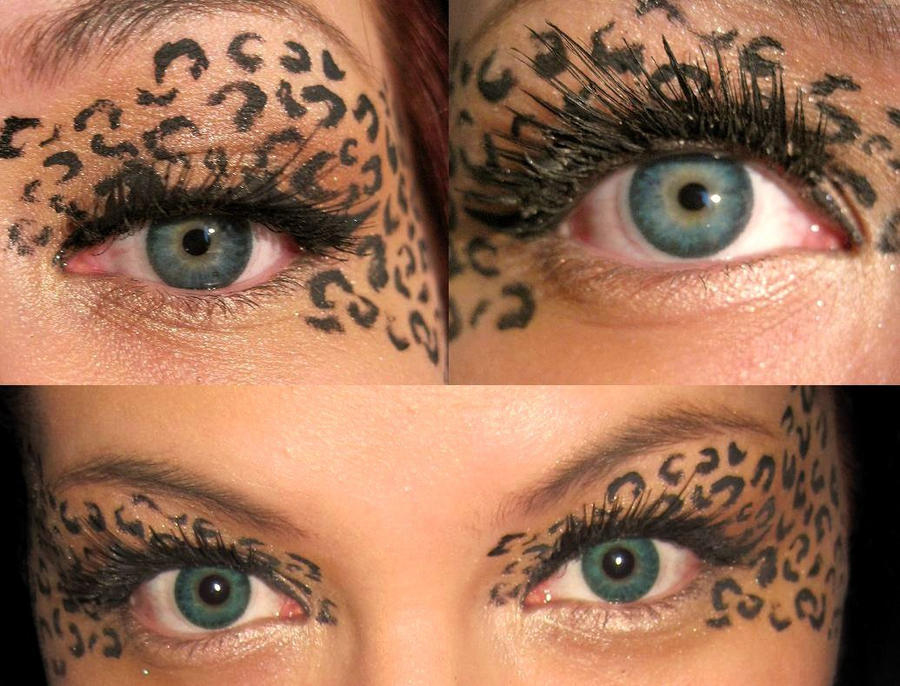 Leopard print eyes by MaleneSolheim on DeviantArt