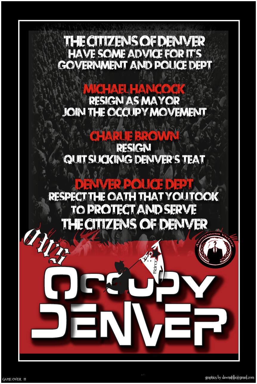 OccupyDenver by Dawnatilla