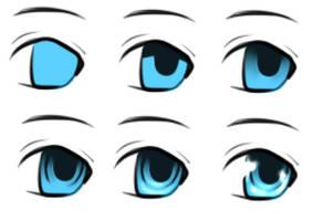 TUT - Easy Shiny Eyes