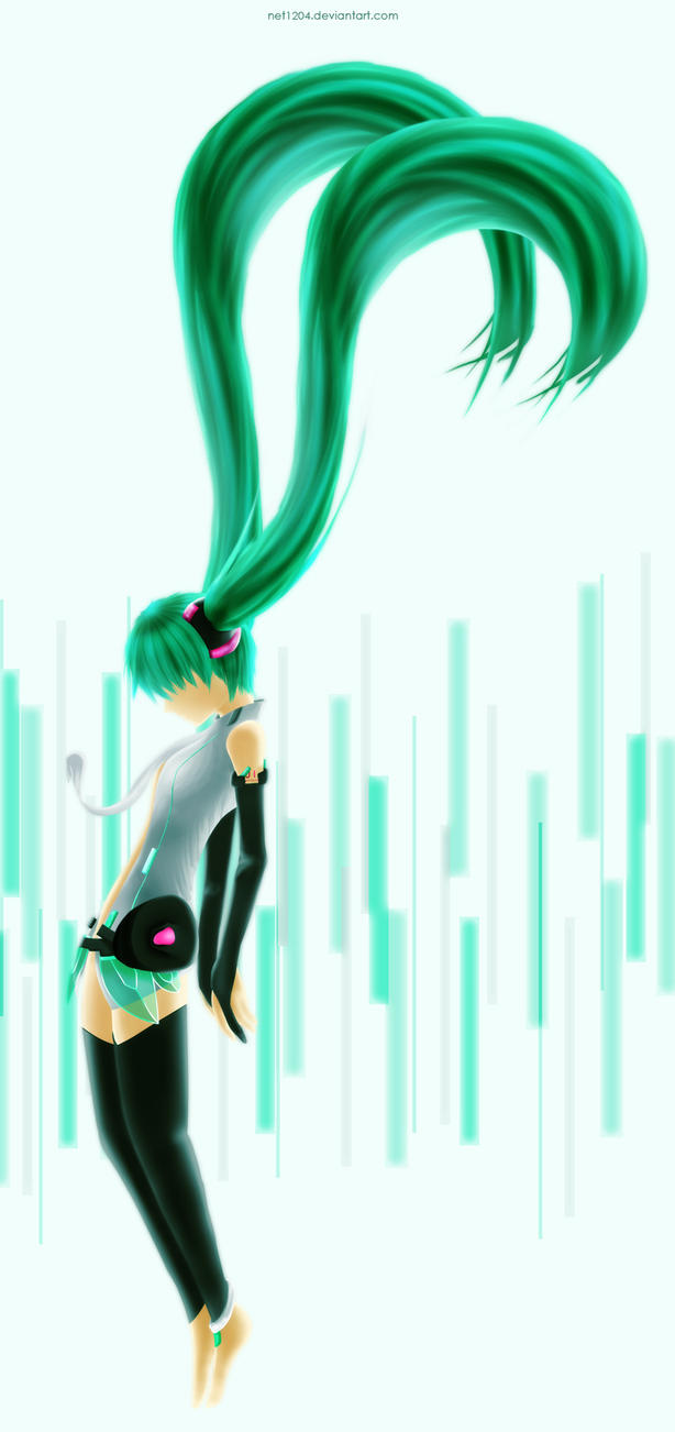Hatsune Miku Append by net1204