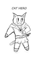 Pussies Quest-Cat Hero 1 by SweetShark
