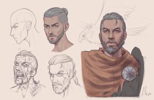 Sketches - the Dark Walker