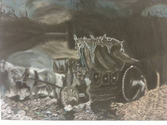 Spooky ride by Smokys-art