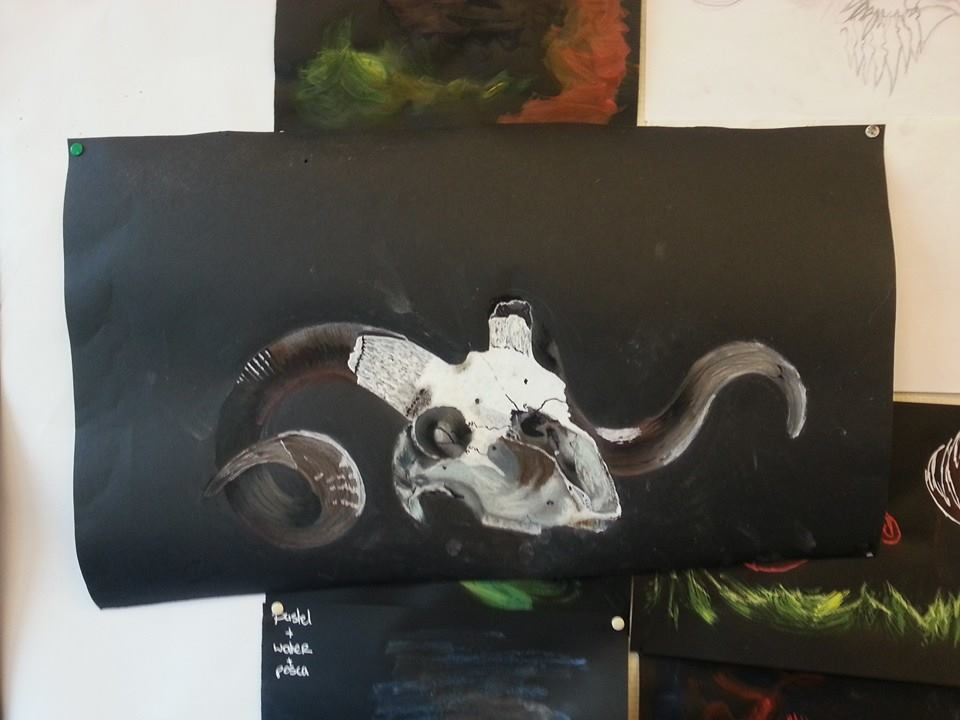 Skull~ by Smokys-art