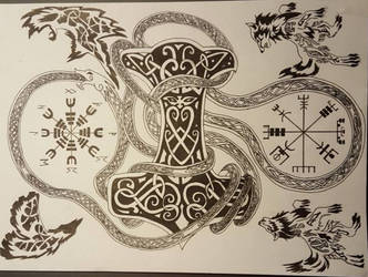 Celtic tattoo by Smokys-art