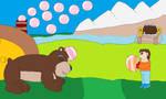 Play with me, me dear Bear Buddy
