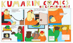 Kumarin Comics 6 Gamer-Bears