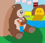 Fluffy big Bear Buddy