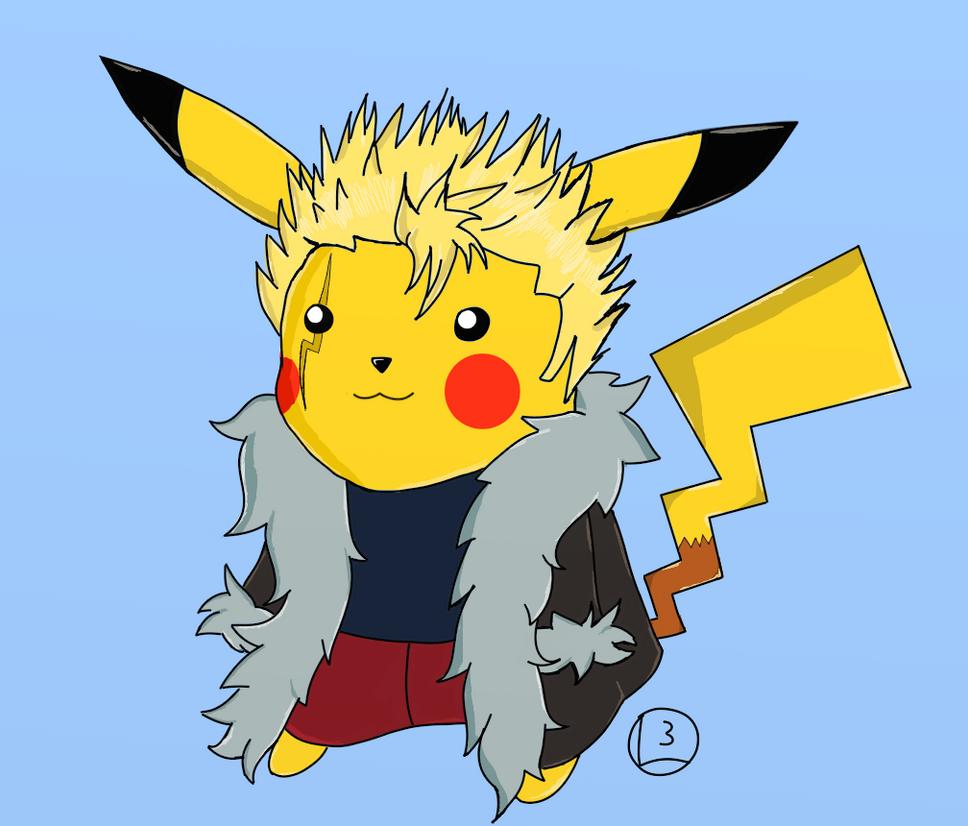 Laxus Pikachu by champion1012 on DeviantArt