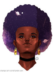 Space Afro by champion1012