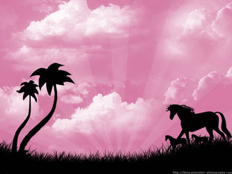 Pony Paradise - pink
