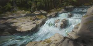 Imaginary landscape study