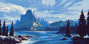 Landscape pixels