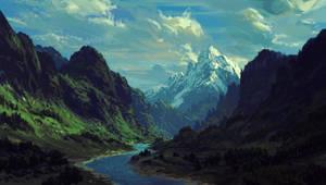 Landscape, Valley