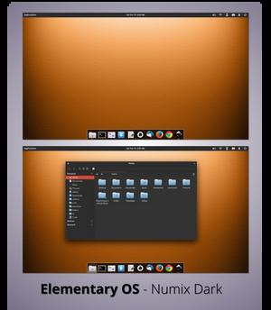 Elementary OS - Numix Dark