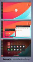 Numix Desktop Setup - Fedora 20