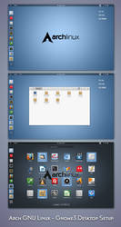 Arch Gnu Linux - Classic Setup by nekron29