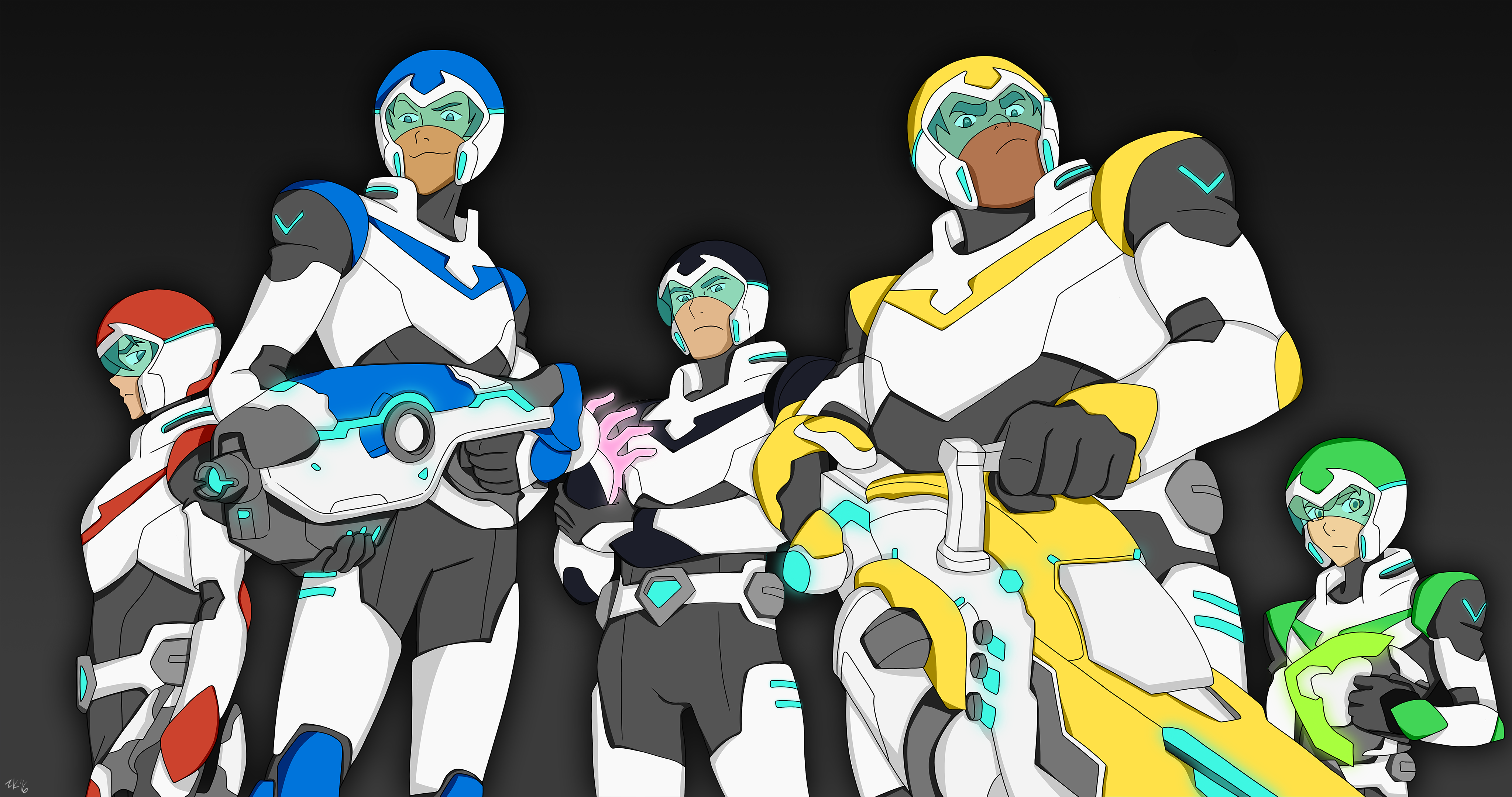 voltron force assembled 4k res background by puppyisms on
