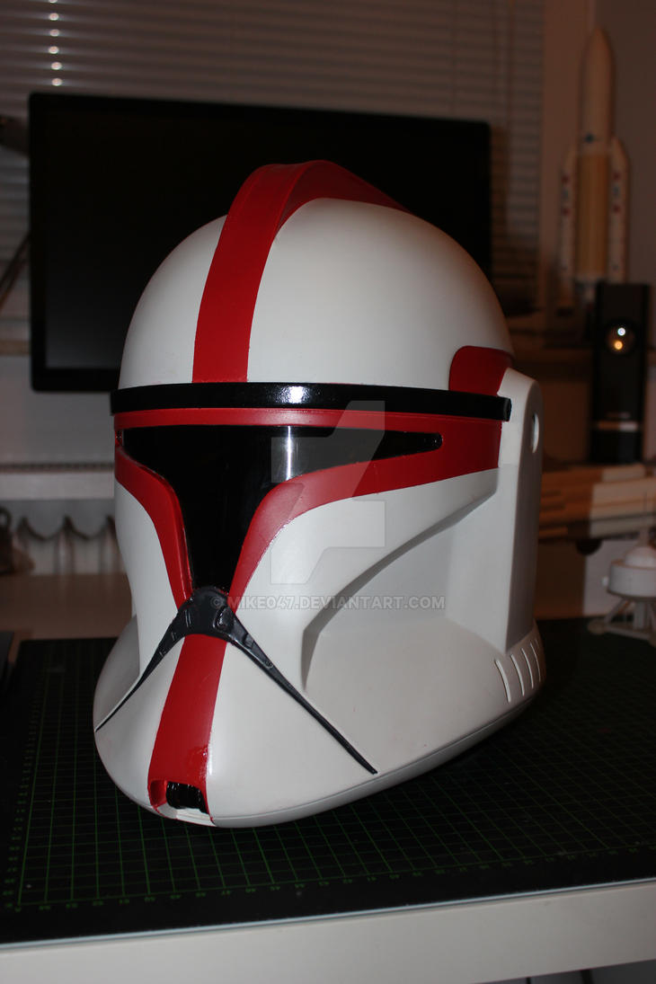 Star Wars Clone Trooper Helmet by Mike047
