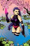 Psylocke Coloring