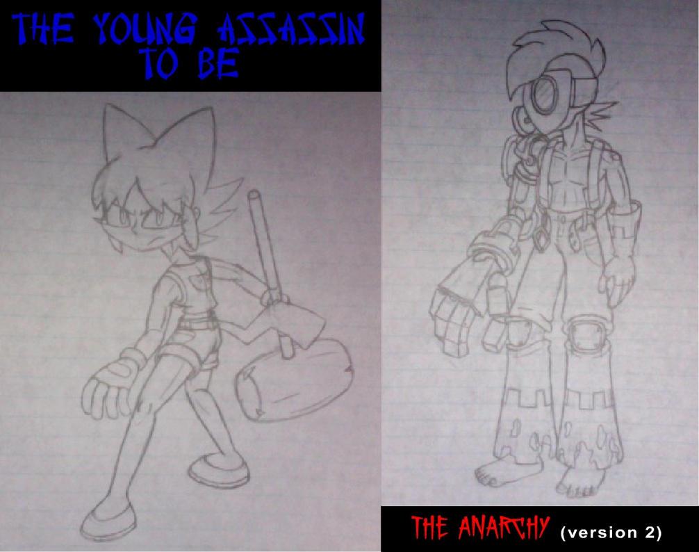 2 Teaser Sketches by GamersIntel