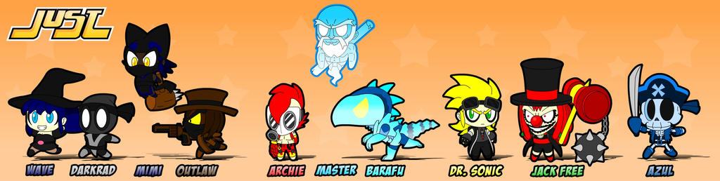 Just Chibis: Main Characters by GamersIntel
